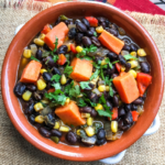 Black Bean & Sweet Potato