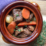 Braised Beef Burgundy Stew