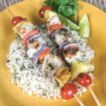 Swordfish & Pineapple Kabobs