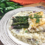 Pan-Seared Grouper with Lime Butter Sauce
