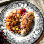 Orange-Cranberry Bone-In Chicken Breasts