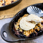 Warm Black Cherry Crisp