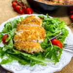 Cheesy Gluten-Free Chicken Cutlets