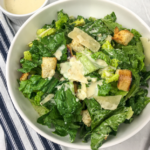 Classic Caesar Salad with Homemade Dressing