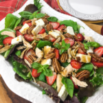 Chicken Salad with Strawberries, Feta, & Pecans