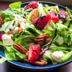 Strawberry Feta Salad with Balsamic Glaze