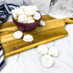 Low Carb Almond Meringue Cookies