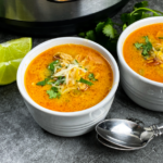 Instant Pot® Low Carb Chicken Enchilada Soup