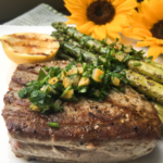Grilled Tuna Steaks With Gremolata