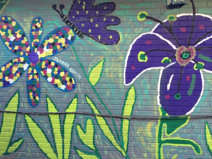 Mural Brings Healing to Mending Hearts