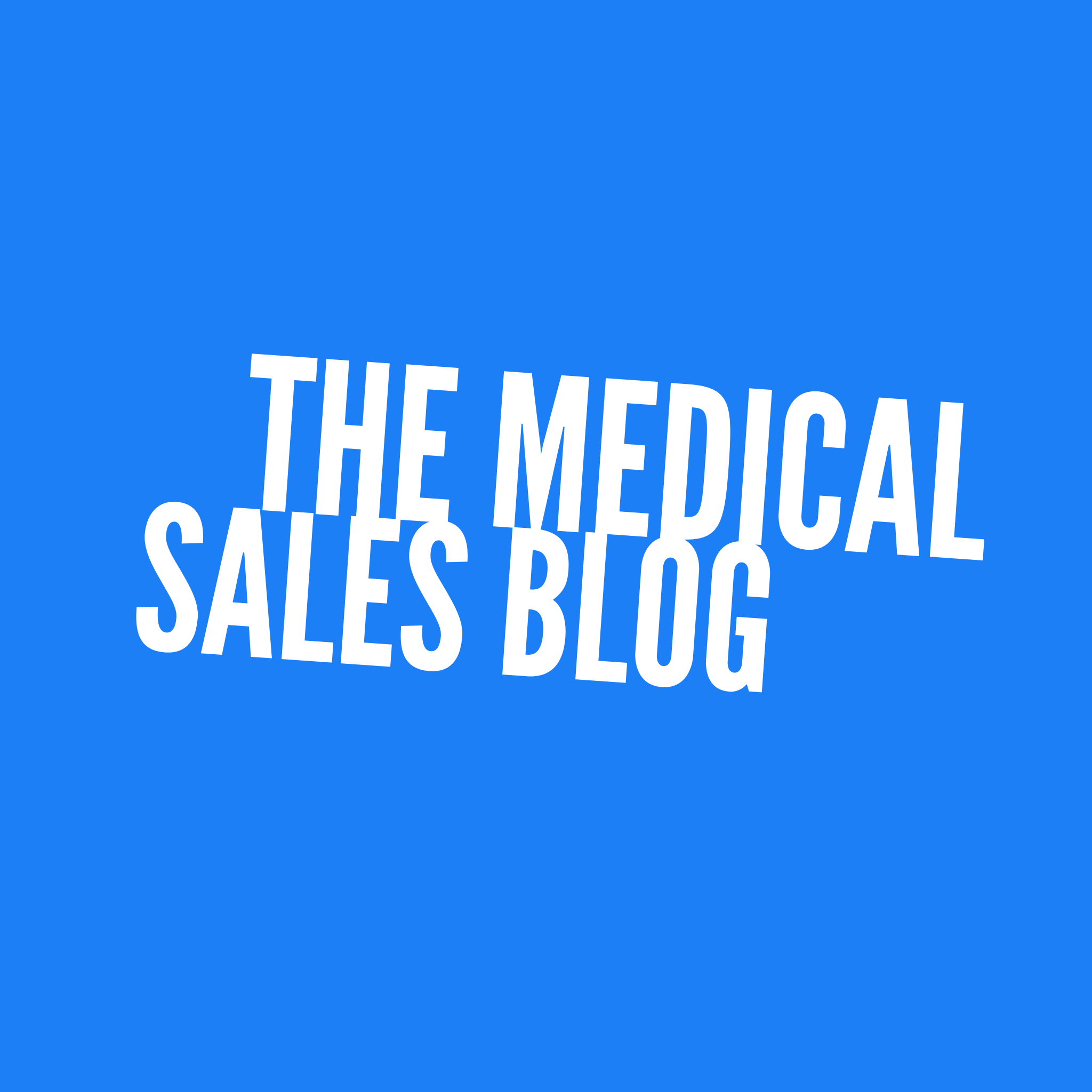 med sales blog