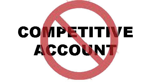 no competitive account