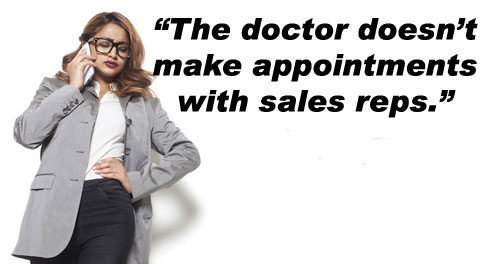 appointments sales reps