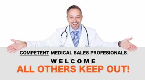 do I need medical sales training