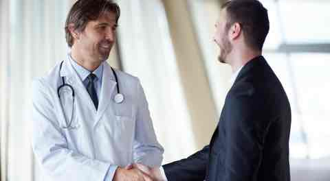 medical sales training doctor and rep