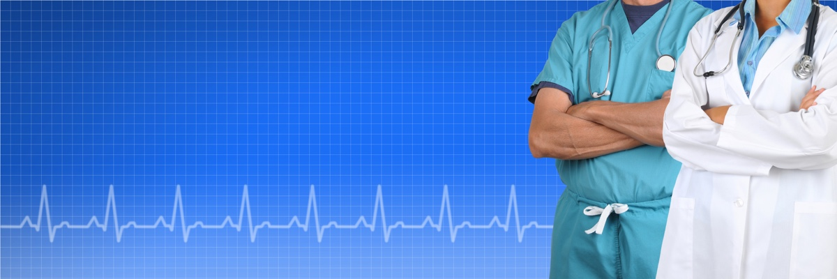 Two Doctor Medical Banner