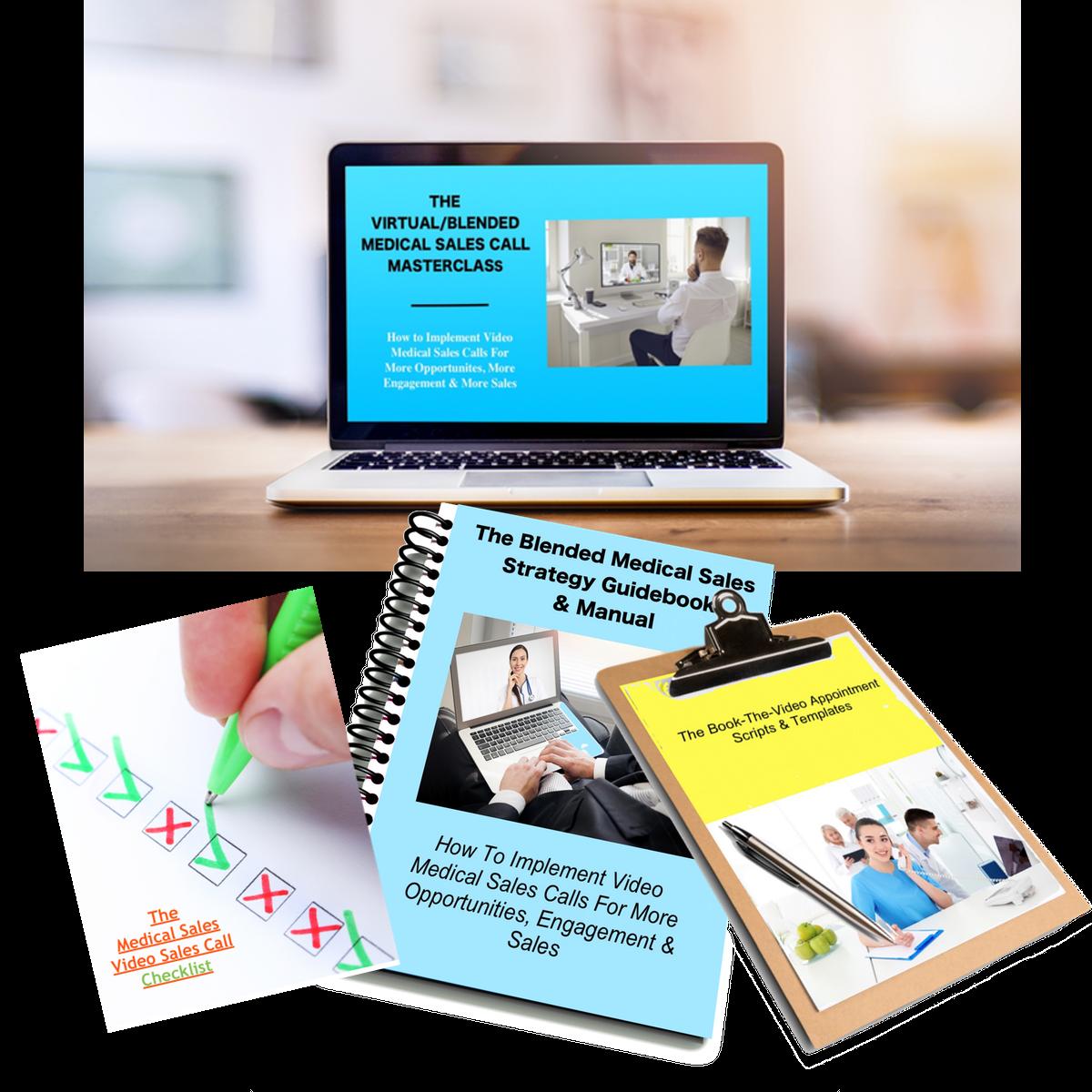 enroll in the virutal / blended medical sales call masterclass