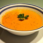 Delicious homemade tomato soup