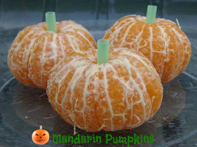 Mandarin pumpkins treats