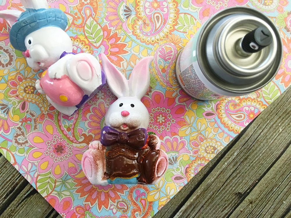 Faux Easter Bunny 2
