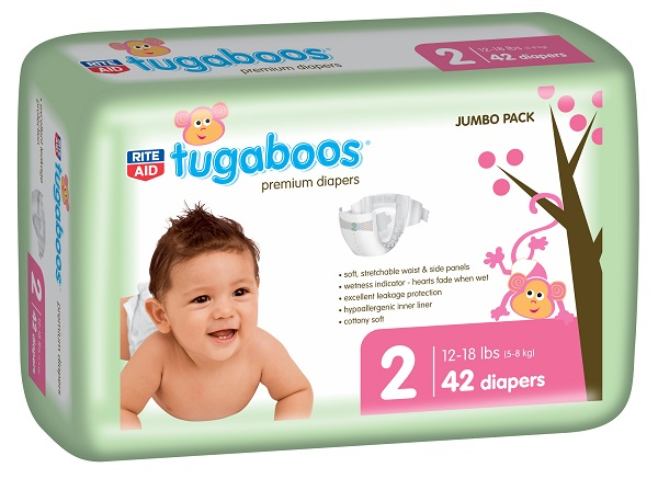 Rite Aide Tugaboos Diapers