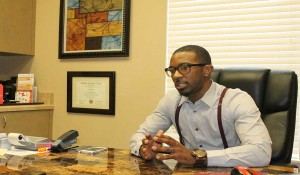 Akil Yisrael reflects on the service his firm provides in the community. (Karsceal Turner -WONO).