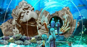 Sea Life Orlando - rendering (Courtesy: Merlin Entertainments Group)