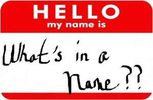 whats in a name name tag