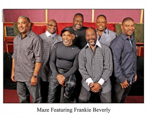 Back by popular demand, Maze featuring Frankie Beverly returns to Center Stage on Jan 31.  Saxophonist Najee will entertain the crowd at Center Stage on February 1.