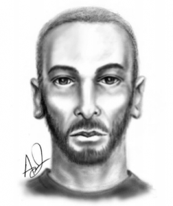 Composite sketch of suspect in attempted sexual battery (OCSO)
