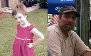 Meredith Jessie (l) and her grandfather, Mark Weekly (r) - victims