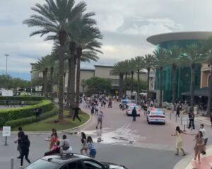 The Mall at Millenia bomb threat panic evacuation