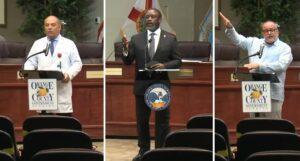 Orange County COVID press conference July 26