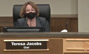 School Board Chair Teresa Jacobs on Face Masks
