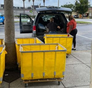 Goodwill donations by resident
