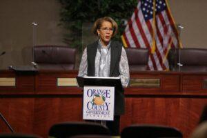 Barbara Jenkins OCPS mask mandate
