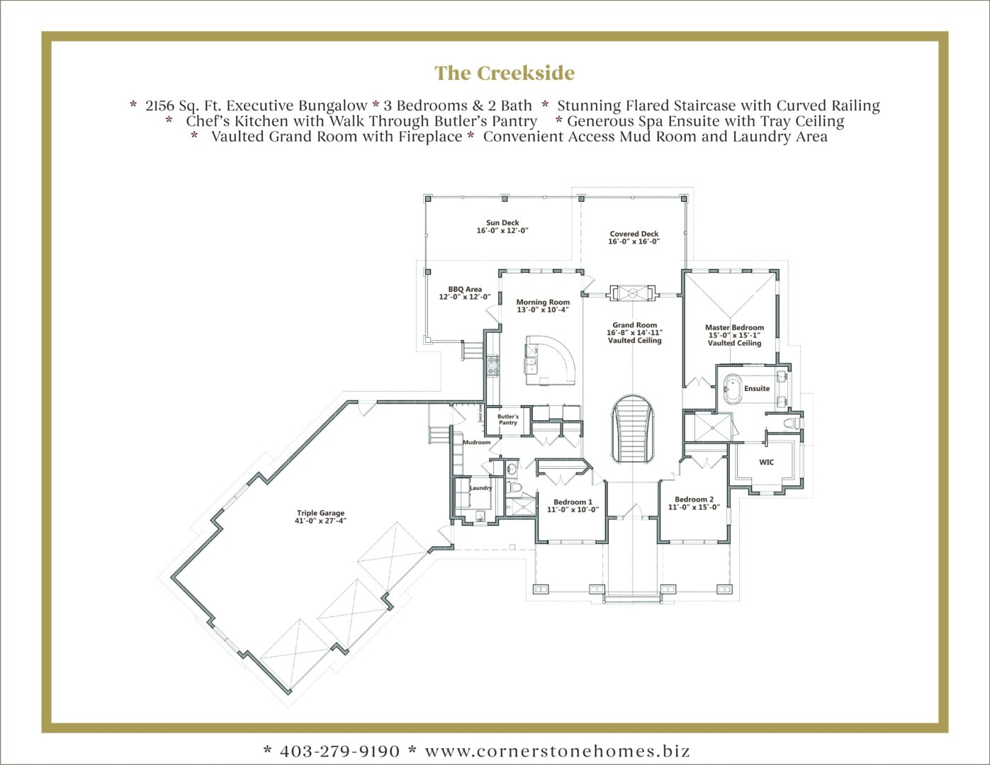 NEW CREEKSIDE Floor Plans