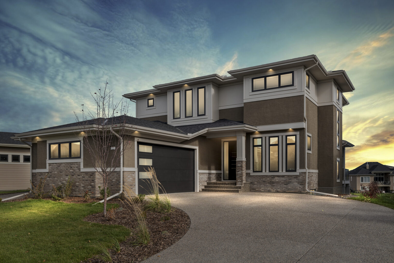 custom home builder - exterior elevation