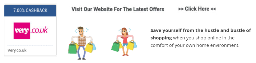 get very cashback and sales promotions when you shop online