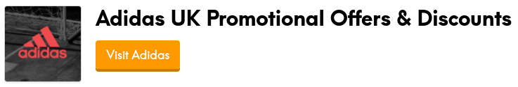 adidas promotional offers and discount codes