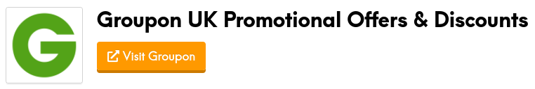 groupon promotional offers and discount codes