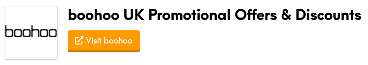 boohoo promotional offers and discount codes