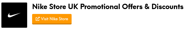 nike store promotional offers and discount codes