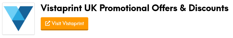 vistaprint promotional offers and discount codes