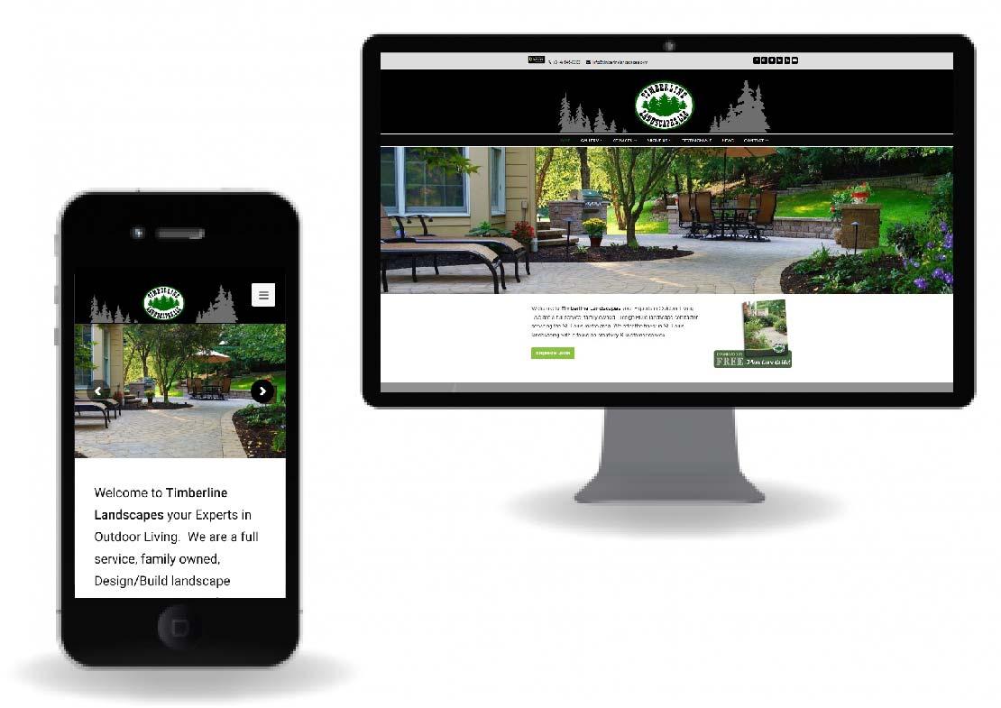 Timberline Landscapes New Website
