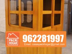 Caseta seguridad de madera