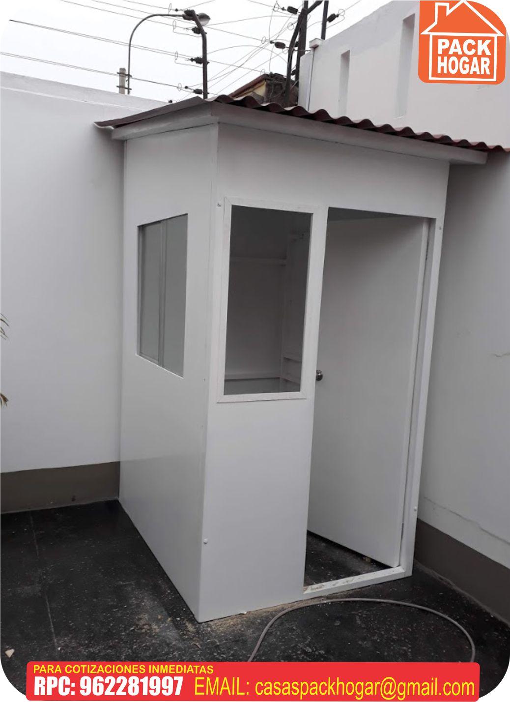 casetas de seguridad prefabricadas en – Lima Peru