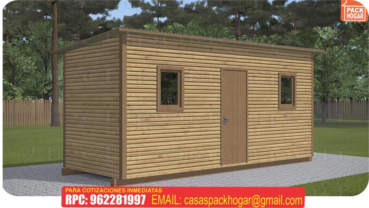 casetas modulo prefabricadas de madera para jardín en – Lima Peru
