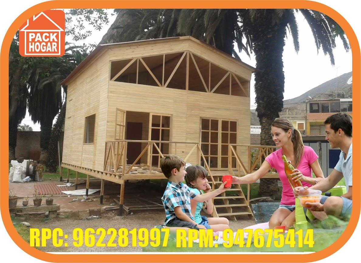 6 razones para comprar una casa prefabricada de madera en Peru