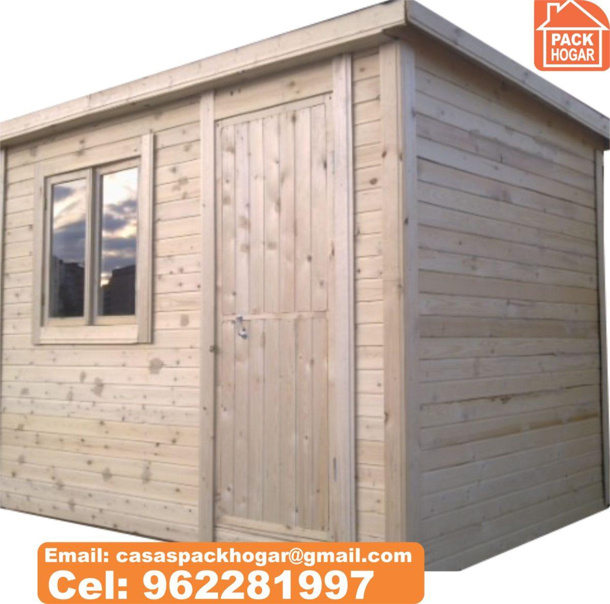 ¿Cuánto cuesta una caseta prefabricada de madera almacén y vivienda?-lima Perú